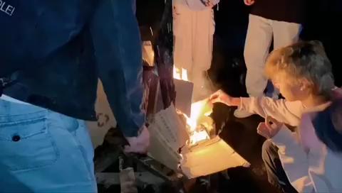 杭州吴越画室丽水下乡写生烧烤派对,烤全羊、篝火晚会走起