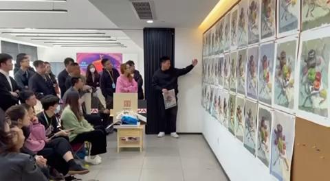 杭州吳越畫室·全國美術老師教師培訓,徐鵬老師給來自全國各地的美術老師授課,感謝米婭超級教師培訓團隊的助力,大家攜手共進[強]