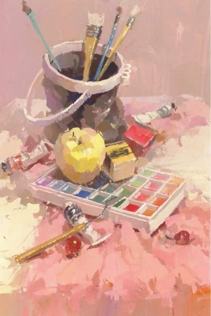 今天分享一組色調超美的色彩靜物作品!