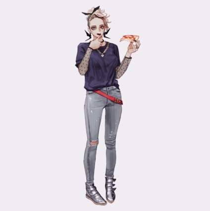 【动漫小课堂】韩国插画师Wonbin Lee画的小姐姐系列,你喜欢哪一个呢~