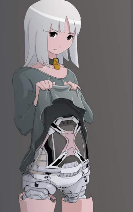 【动漫小课堂】机械少女 系列漫画 你喜欢这组风格吗? 作者:插画师 sukabu