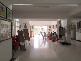 画室大厅场景