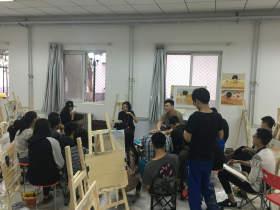 北京华卿画室教室图1