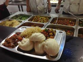 北京华卿画室食堂图8