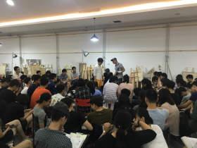 北京華卿畫室教室圖6