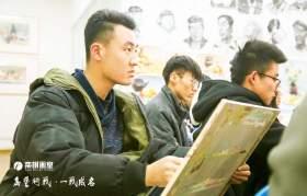 北京栾树画室教室图3