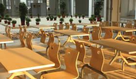 安徽空间美术学校食堂图1