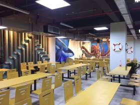 成都首创画室食堂图9