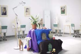 成都首创画室教室图2