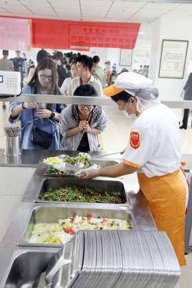 北京水木源画室食堂图5
