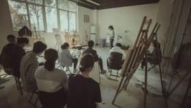 西安兄弟画室美术培训学校教室图7