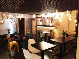 北服人画室用餐环境