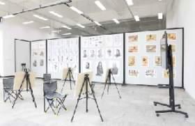 北京博艺画室教室图1