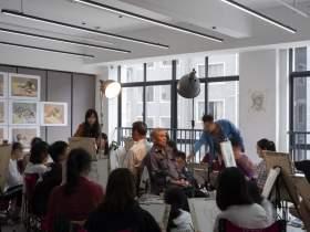 杭州吳越畫室教室圖6