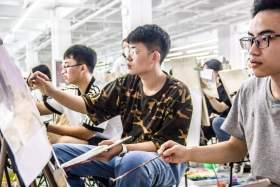杭州白墙画室教室图7