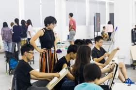 杭州白墻畫室教室圖3