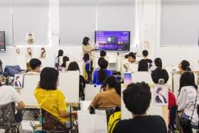 杭州白墻畫室教室圖1