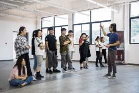 杭州白墻畫室教室圖2