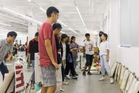 杭州白墙画室教室图4