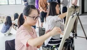 杭州白墻畫室教室圖5