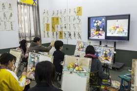 杭州东昱画室教室图2