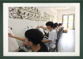 合肥艺晨美术学校教室图1