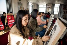 北京新意新象画室教室图2