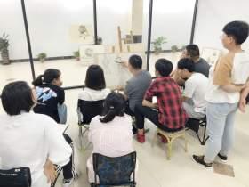 北京新意新象画室教室图6