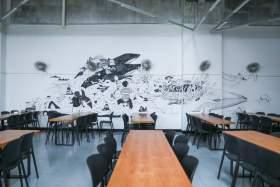 杭州孪生画室食堂图1