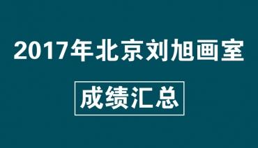 2017年北京刘旭画室成绩汇总