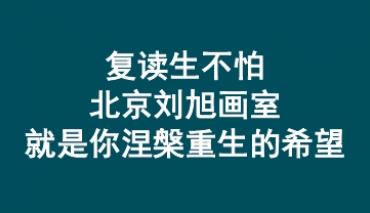 复读生不怕不哭,北京刘旭画室就是你涅槃重生的希望
