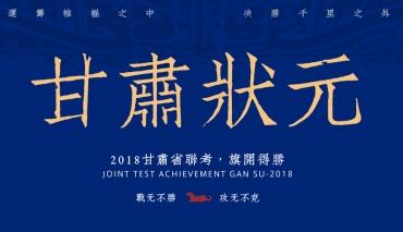 将军画室2018甘肃省联考状元