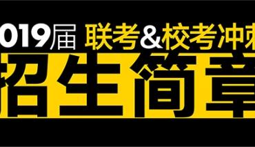 之江画室2019届【联考\校考】冲刺班招生简章