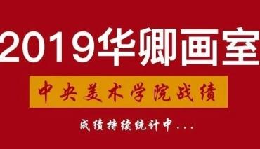 【华卿央美战绩】2019届央美成绩大合集!