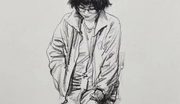 【北京博艺画室】分析单人动态速写的表现