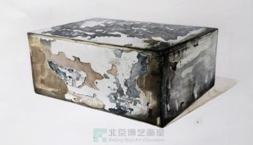 【北京博艺画室】浅谈素描正方体的基本画法