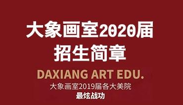 招生简章|大象画室2020届校考招生简章!