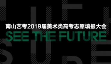 见·未来丨南山艺考2019届美术类高考志愿填报大会圆满结束
