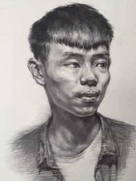 郑州力度画室素描图1