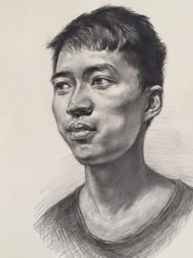 郑州力度画室素描图2
