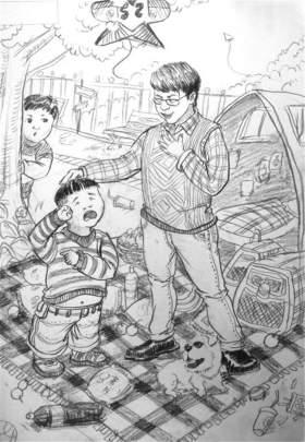 奥景昇华美术学校速写图6