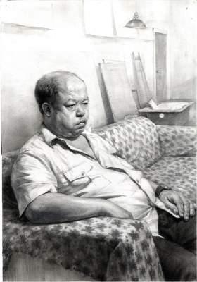 杭州国艺兄弟画室素描图4