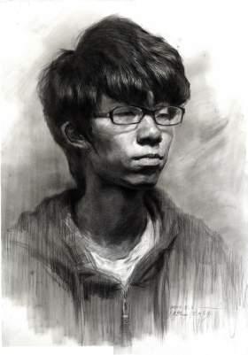 杭州国艺兄弟画室素描图1
