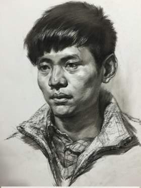 杭州国艺兄弟画室素描图8