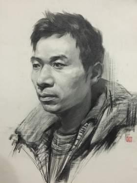 杭州国艺兄弟画室素描图7