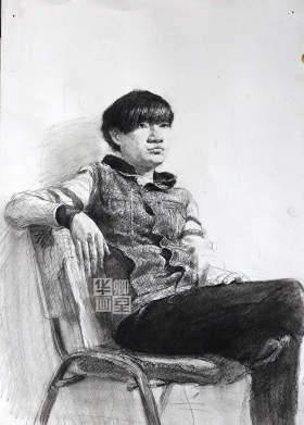 北京华卿画室素描图1