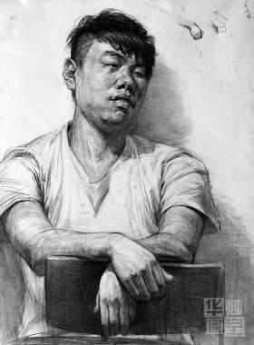北京華卿畫室素描圖5