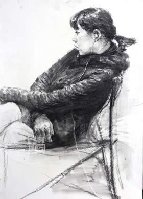 北京華卿畫室素描圖3