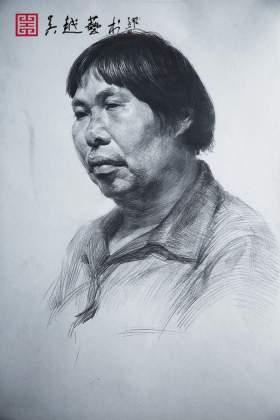 杭州吴越画室素描图1
