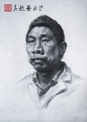 杭州吴越画室素描图4